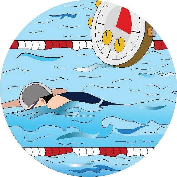 "Swimming - 2"" Mylar Insert"