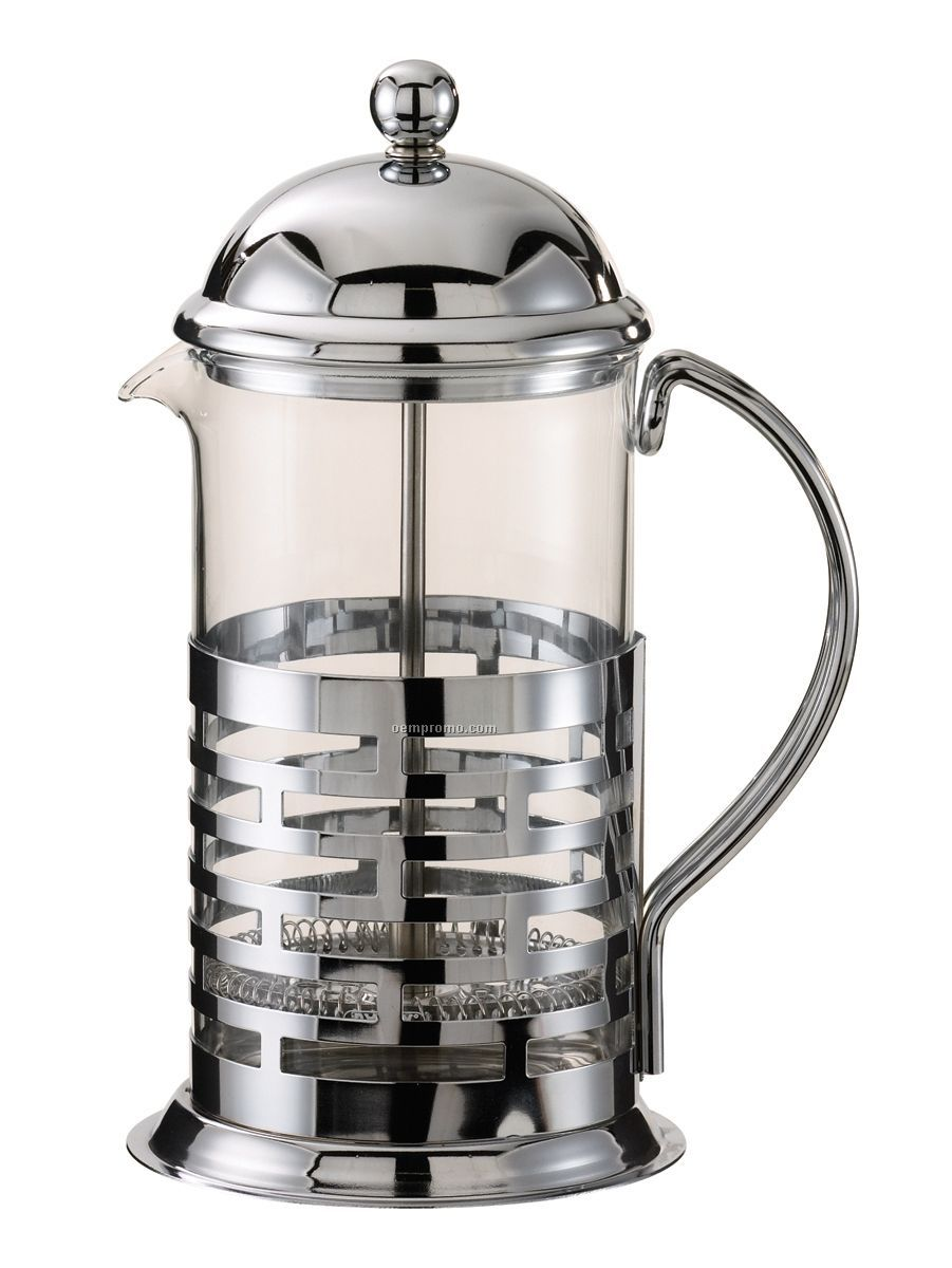 1 Liter Chrome Coffee Press
