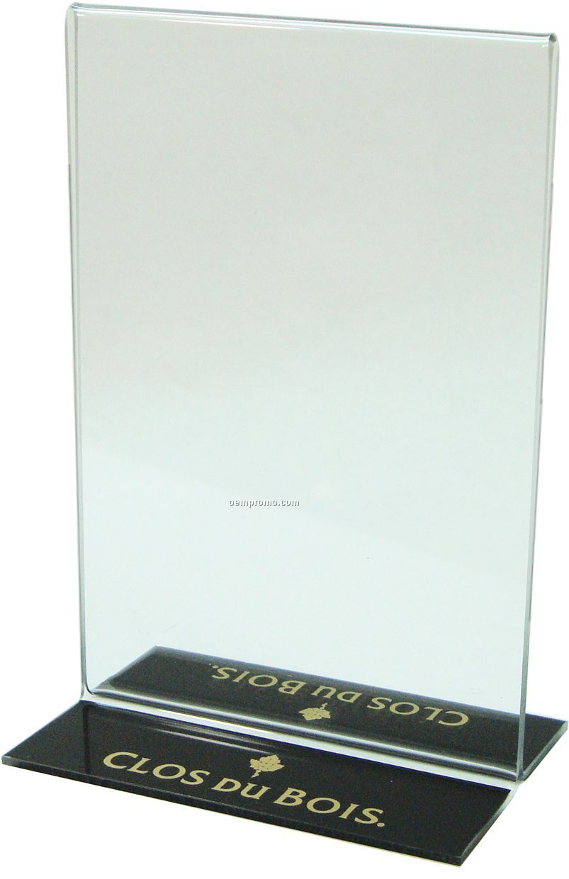 Counter Top/ Table Top Vertical Double Sided Bottom Loading Frame (4 ...