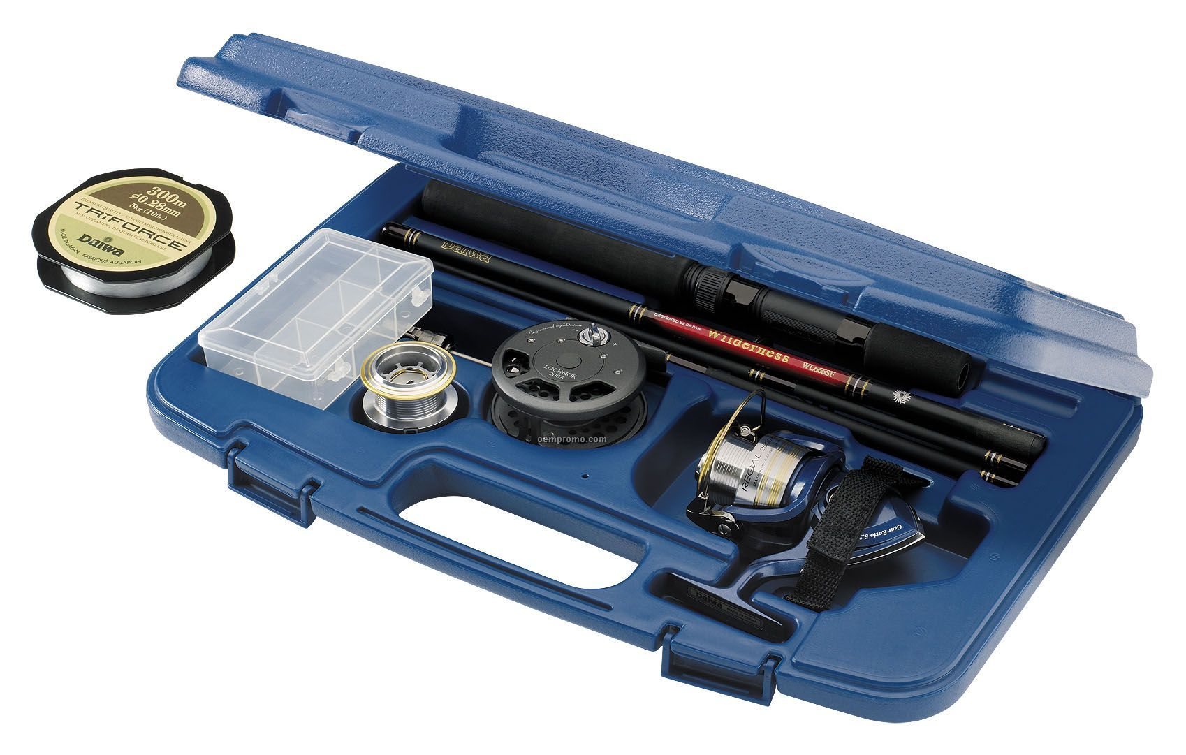Daiwa Regal Executive Rod & Reel Travel Pack In Hard Case (Fly Reel)