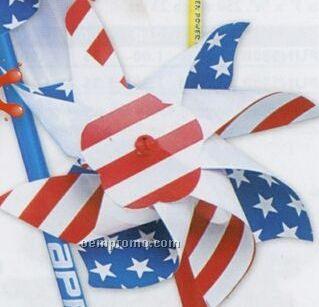 Patriotic Plastic Pinwheel
