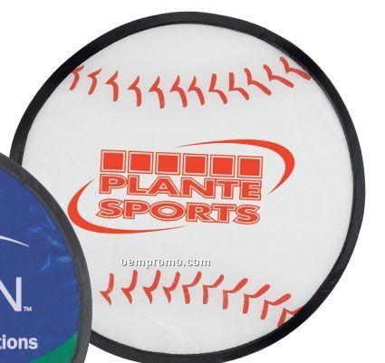 Baseball Flip Flyer Disc