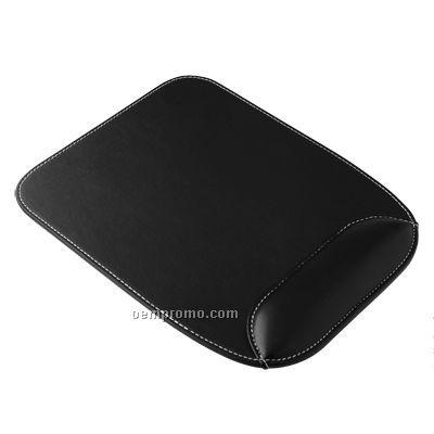 Pu Mouse Pad With Wrist Cushion (Rectangle Shape)