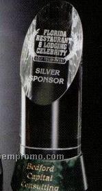 """Verde Gallery Crystal & Marble Vinton Award (8"""")"""