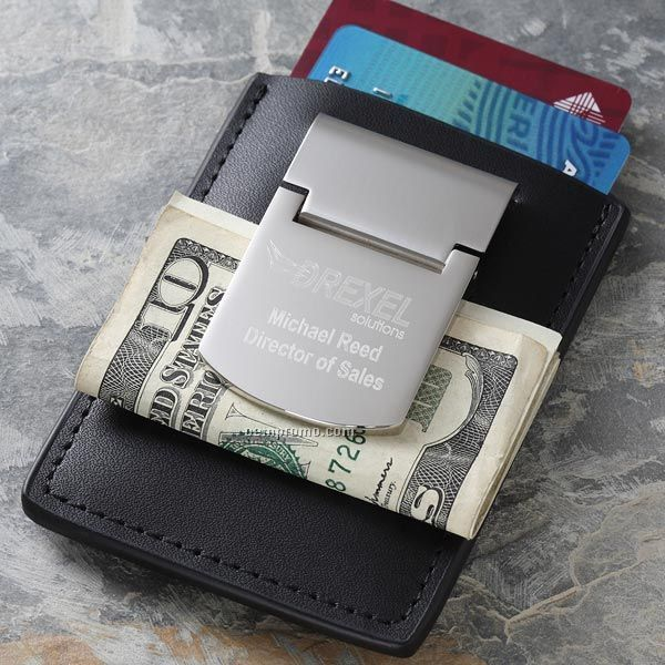 Personalized Corporate Engraved Logo Money Clip