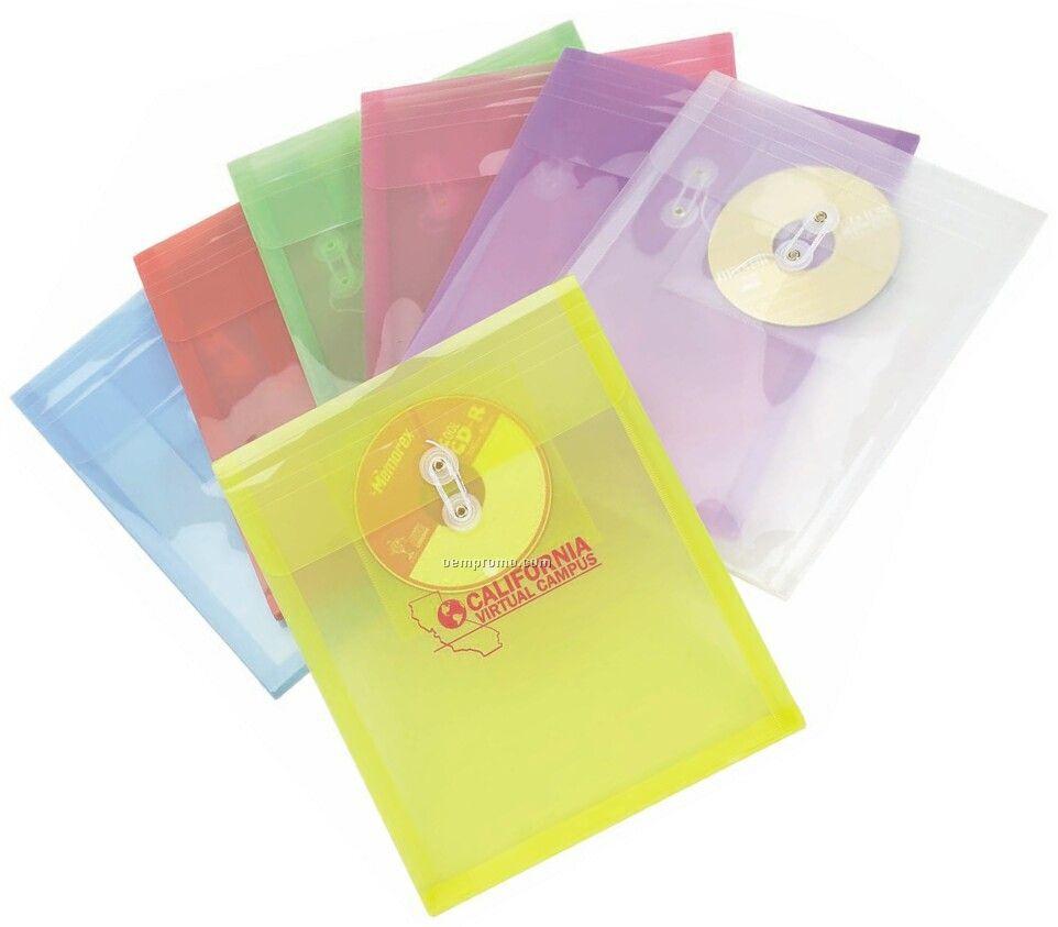 Translucent Pro Envelope With CD Holder