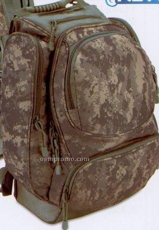 Digital Camouflage Deluxe Backpack (Blank)