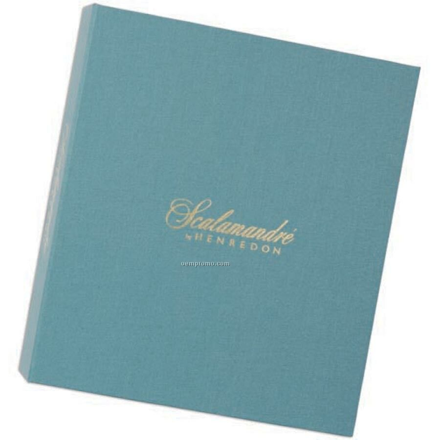 Linen Book Cover Material : Linen cloth cover turned edge binder quot ring china