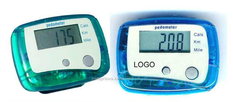 Multi-function Pedometer - Measure Distance In Mile And Kilometer