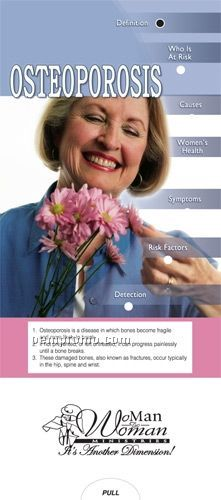 Osteoporosis Pocket Slider Chart/ Brochure