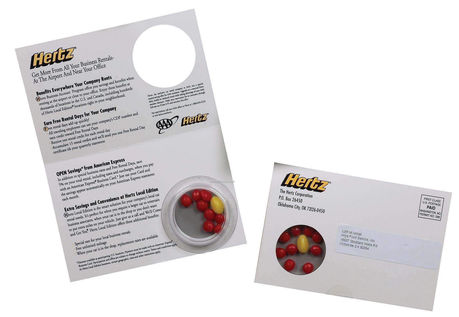 "Promodome Bi-fold Postcard With Custom Insert - 4c Process/ 2 Sides (4""X6"")"