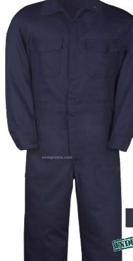 "9 Oz. Indura Rugged Twill 100% Cotton Coverall (38"" To 50"" Waist)"