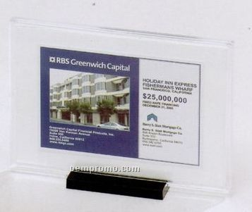 "Snap Plaque Certificate Holder (8 3/4""X11 1/4""X3/8"")"