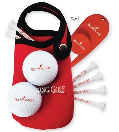 Snap-a-long Xl Golf Kit W/ 2 Slazenger 402 Select Golf Balls