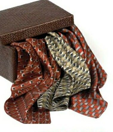 Wolfmark Career Collection Silk Scarf - Marquette (8