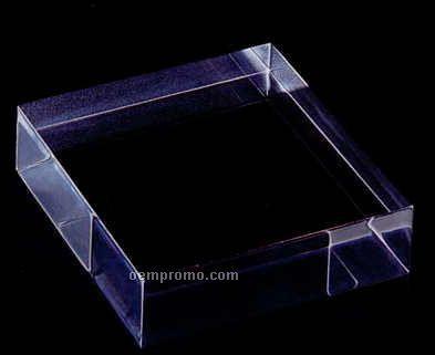 """Heavy Block Acrylic Specialty Base (3""""X3""""X4"""")"""