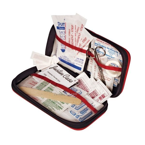 Smart Medic First Aid Kit W/ Organized Compartments