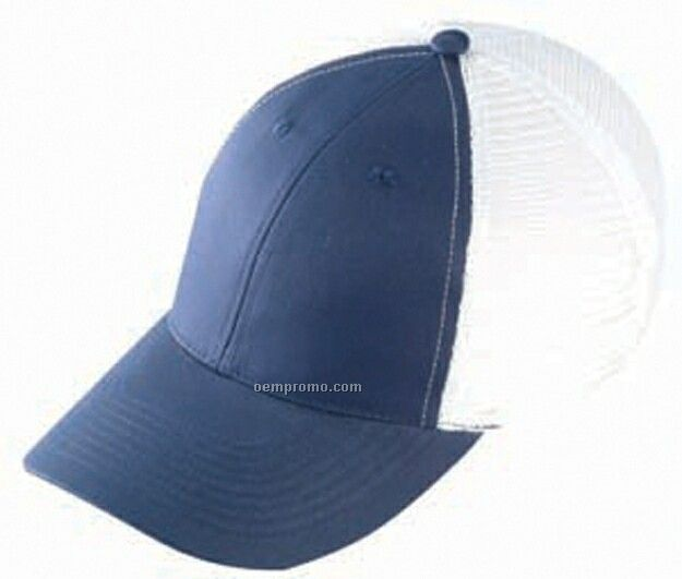 Constructed Low Profile Twill Mesh Back Cap