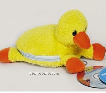 Plush Duck CD Case