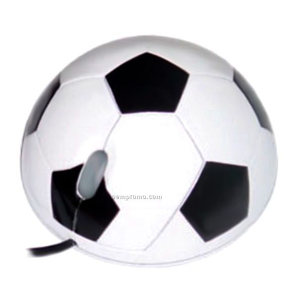 Soccer Shaped Mouse(Usb)