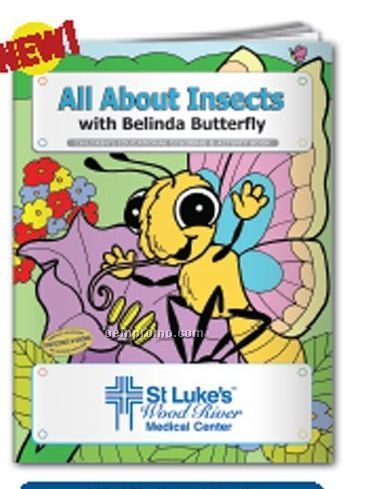 Coloring Book - All About Insects W/ Belinda Butterfly