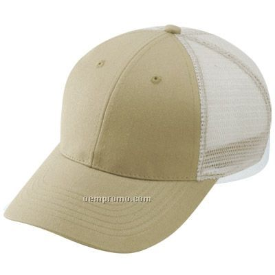 Constructive Recycle Poly Cotton Low Profile Mesh Back Cap