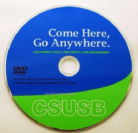 DVD Replication W/ Disc Print - 3 Color (DVD 9)