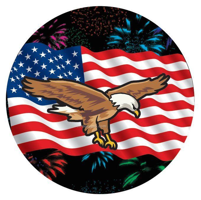 Flag W/ Eagle - 2