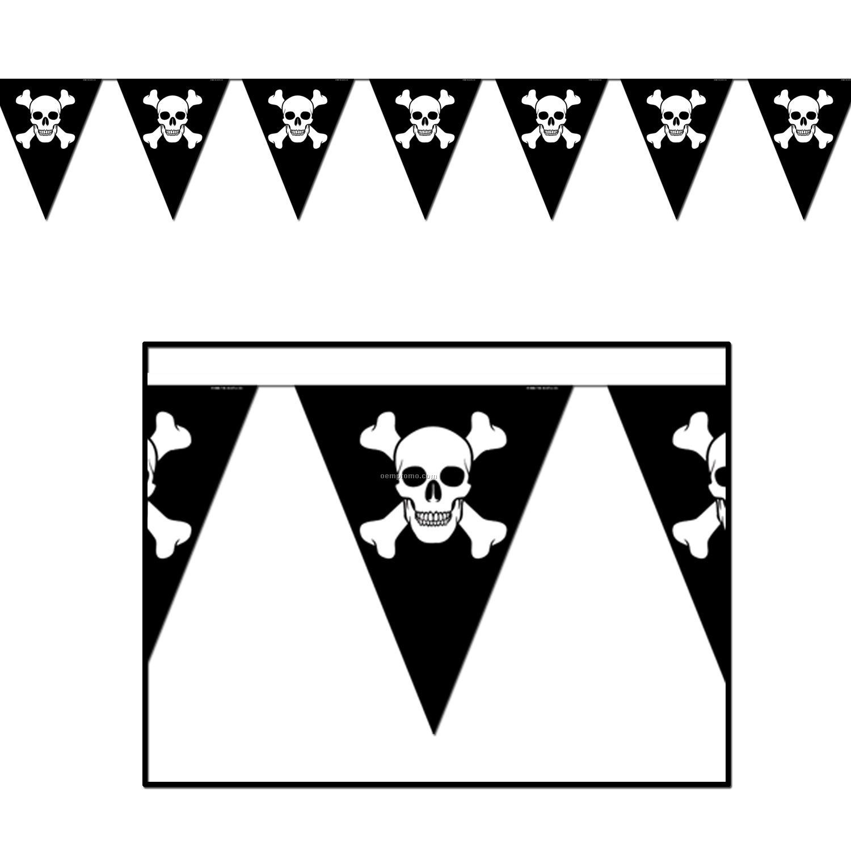 Украшения для вечеринки пиратской своими руками