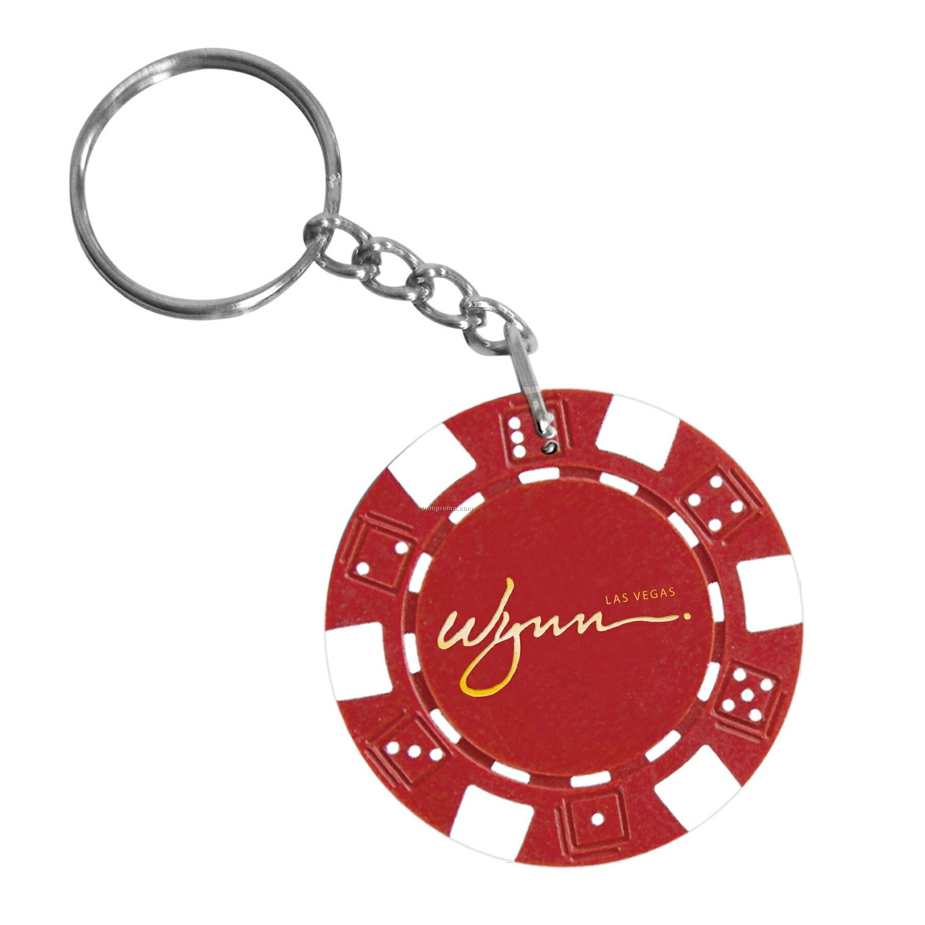 Poker Chip Keychain (2 Side Imprint)