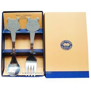 Children's Spoon & Fork Set