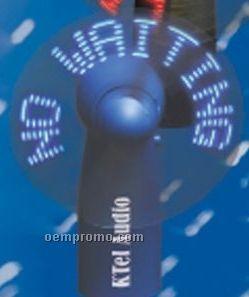 Self Programmable Mini Logo Fans W/ 7 Blue LED
