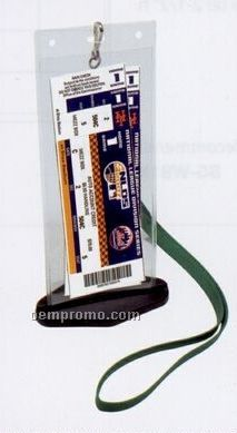"Ticketguard Showcase Keepsake For Tickets Or Passes - 3""X8 5/16"""