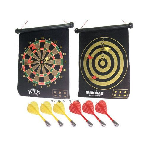 """15"""" Two-sided Magnetic Dartboard"""