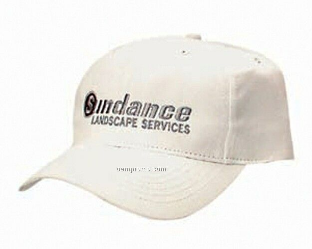 Constructed Cotton Twill Low Profile Cap