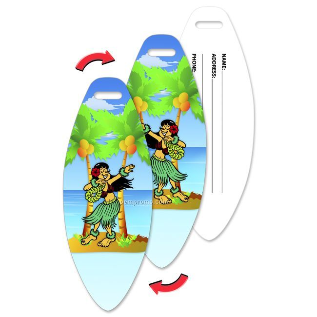 Hawaiian Luggage Tags Luggage Tag Hawaiian Hula