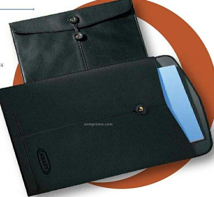Leather Manila Envelope
