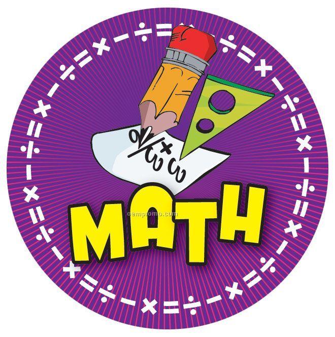 "Math - 2"" Mylar Insert"