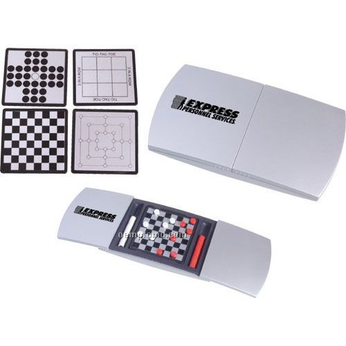 5-in-1 Magnetic Travel Game Set