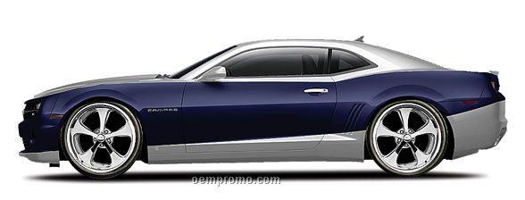 "7""X2-1/2""X3"" 2010 Camaro Ss Rs All Star Series Die Cast Replica Sports Car"