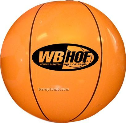 Inflatable Sports Beach Ball - Basketball