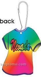 Nevada T-shirt Zipper Pull