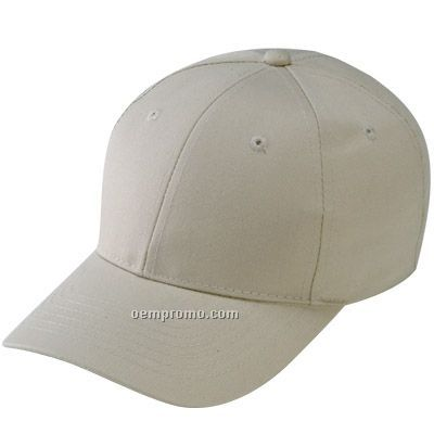 6 Panel T/C Twill Low Profile Cap