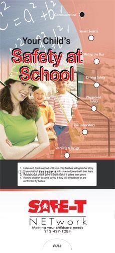 Your Child's Safety At School - Pocket Slider Chart/ Brochure