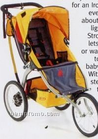 Bob Ironman Sport Utility Baby Stroller W/ 2 Step Folding Design