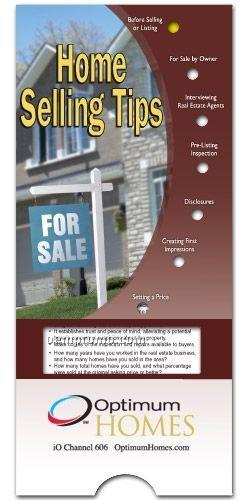 Home Selling Tips - Pocket Slider Chart/ Brochure