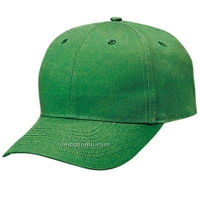 Unconstructed Cotton Twill Low Profile Cap W/ Velcro Strap