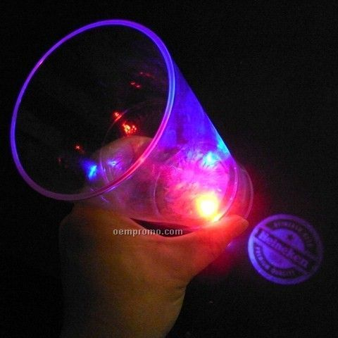 16 Oz. Multi LED Light Up Projector Cup