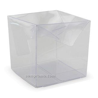 """Clear Vinyl Box (3""""X3""""X3"""")"""