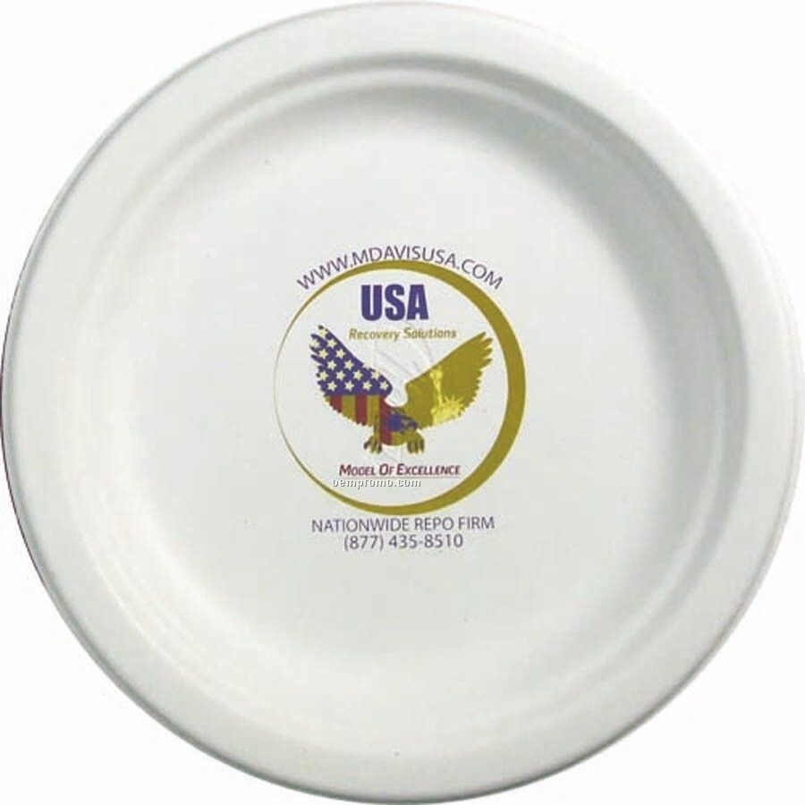 Compostable Paper Plate - 6.75